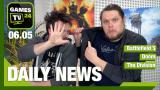 Battlefield 5, The Division 1.2, Han Solo, Doom - Video-News vom 6. Mai