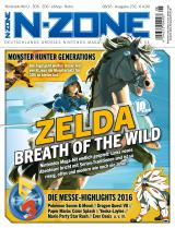 N-ZONE 08/2016: Zelda: Breath of the Wild, Pokémon Sonne & Mond, Monster Hunter Generations und noch viel mehr!