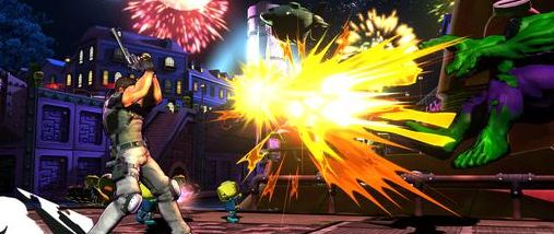 Marvel vs. Capcom 3: Brillante High-Res-Screenshots